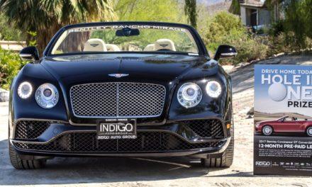 Bentley Rancho Mirage Showcases 2017 Continental GT At BIGHORN