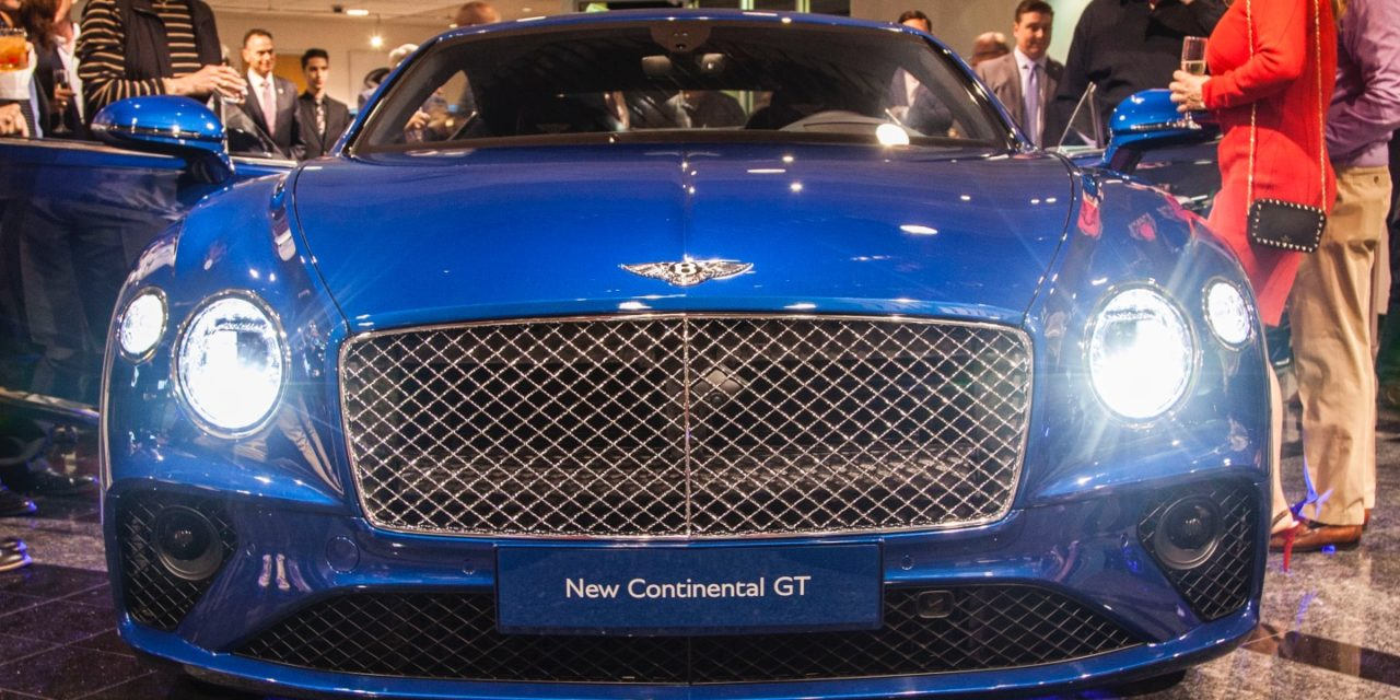 Bentley Rancho Mirage Celebrates The Bentley Continental GT