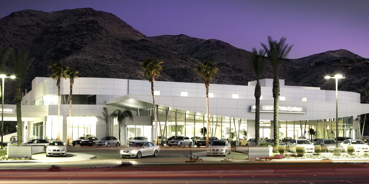 """BMW of Palm Springs Named """"Best Auto Dealer"""" by the Desert Sun"""