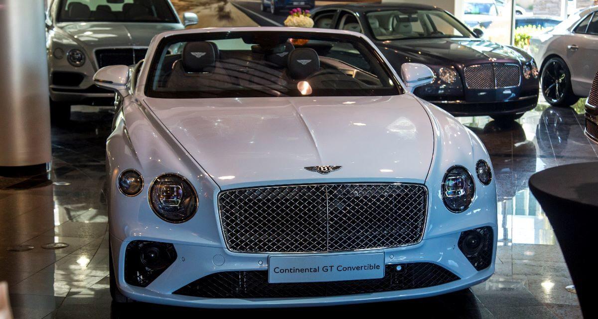 Bentley GTC Tour