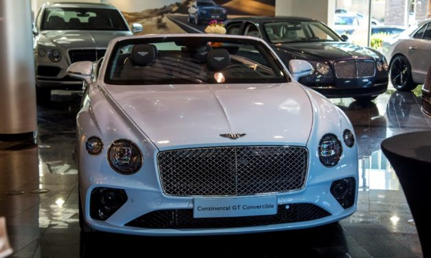 Bentley GTC Tour
