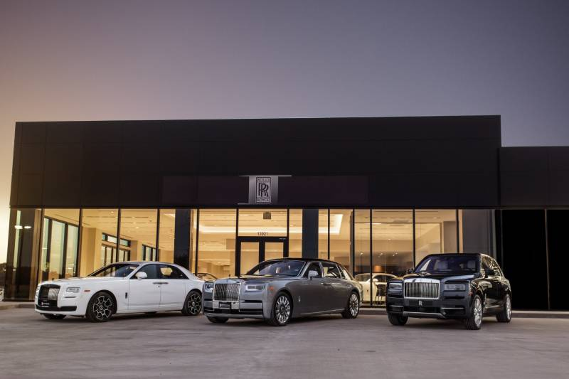 Rolls-Royce Ghost Premiere North Houston