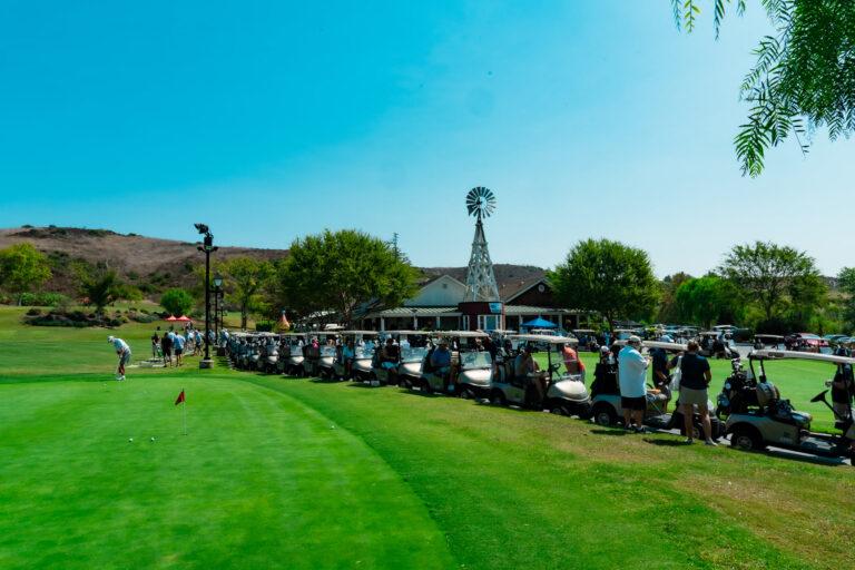 03 Porsche Palm Springs 2020 Golf to Remember - Cart Lineup