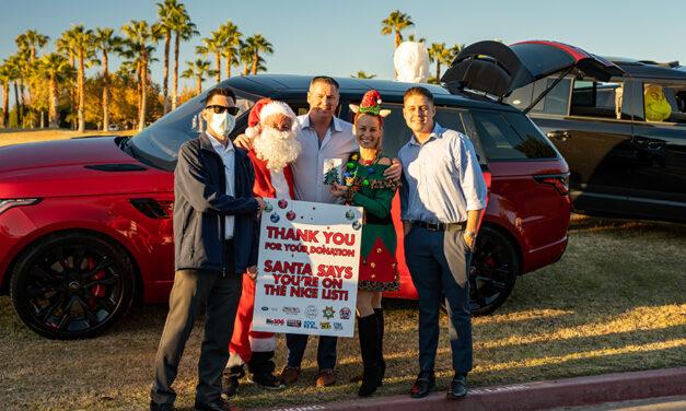 Land Rover Santa Toy Drive