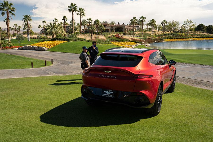 Aston Martin Rancho Mirage Test Drive Event