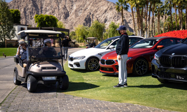 BMW OF PALM SPRINGS FEATURED AT HIDEAWAY