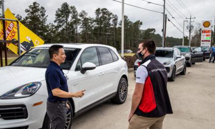 Porsche North Houston's February Drive Experience
