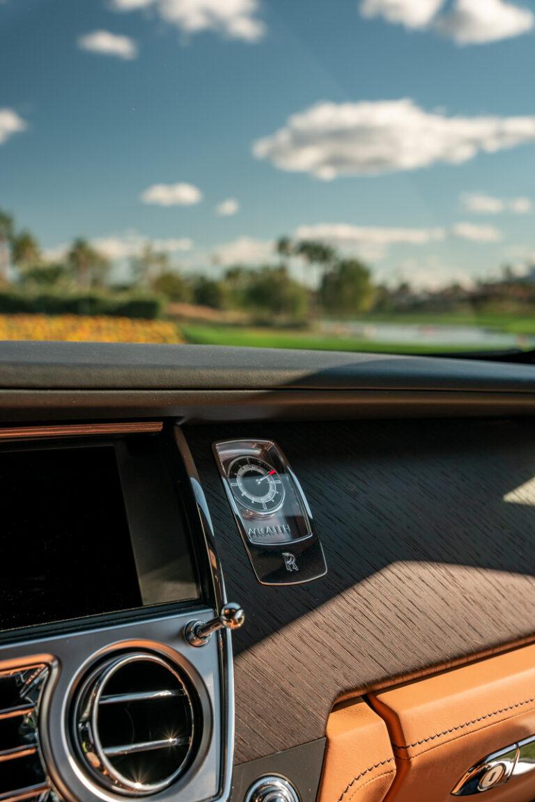 Rolls-Royce Drive Dashboard