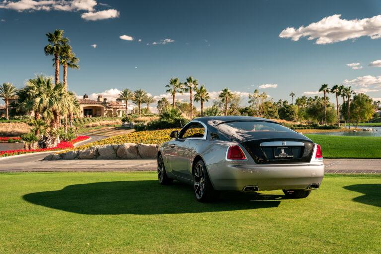 Rolls-Royce Drive Wraith trunk