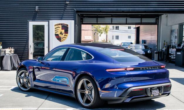 Porsche Marin Taycan Drive