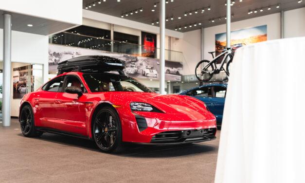 Porsche North Houston Taycan Drive