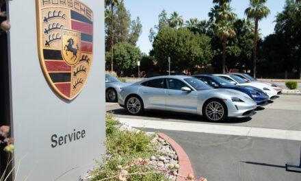 Porsche Palm Springs Taycan Drive